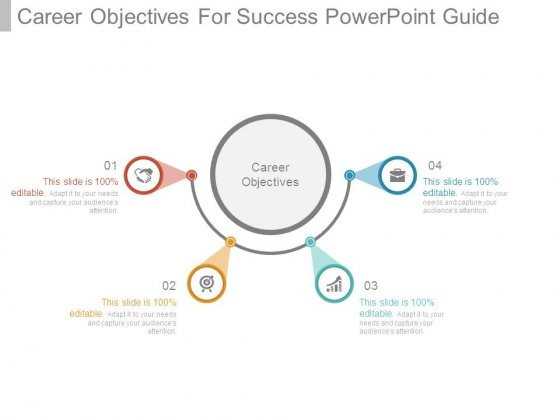 Career Objectives For Success Powerpoint Guide