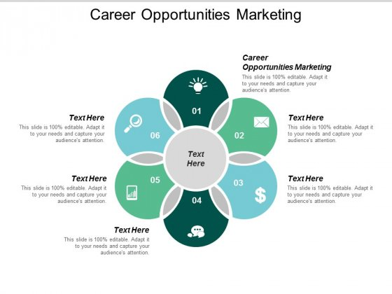Career Opportunities Marketing Ppt PowerPoint Presentation Layouts Background Cpb