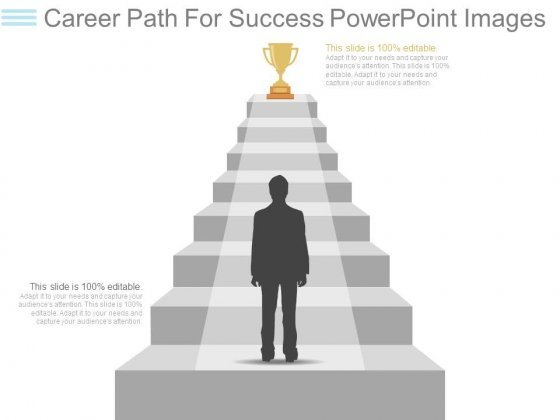 Career Path For Success Powerpoint Images