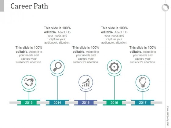Career_Path_Ppt_PowerPoint_Presentation_Shapes_Slide_1