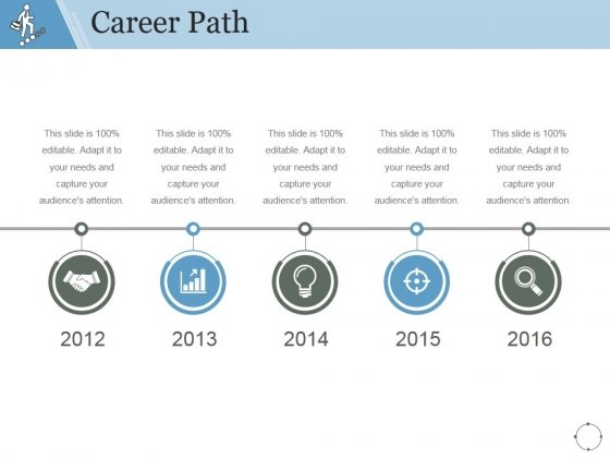 Career Path Template 1 Ppt Powerpoint Presentation Gallery Powerpoint Templates