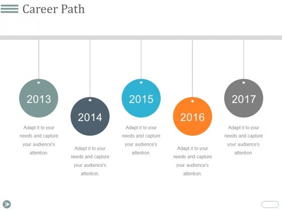 Career Path Template 1 Ppt PowerPoint Presentation Pictures Summary