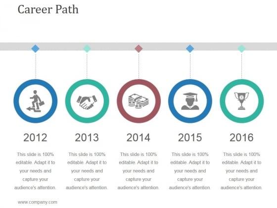 career path template 2 ppt powerpoint presentation summary