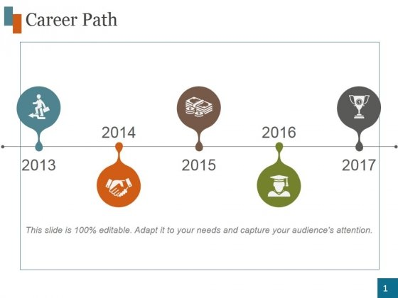 Career_Path_Template_4_Ppt_PowerPoint_Presentation_Graphics_Slide_1