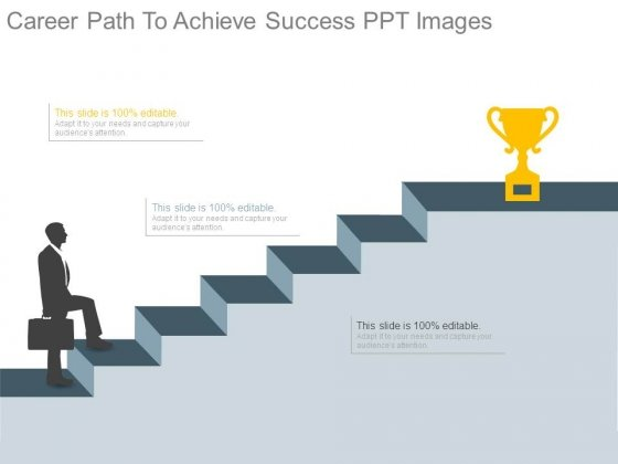 Career Path To Achieve Success Ppt Images