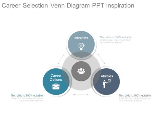 Career Selection Venn Diagram Ppt Inspiration