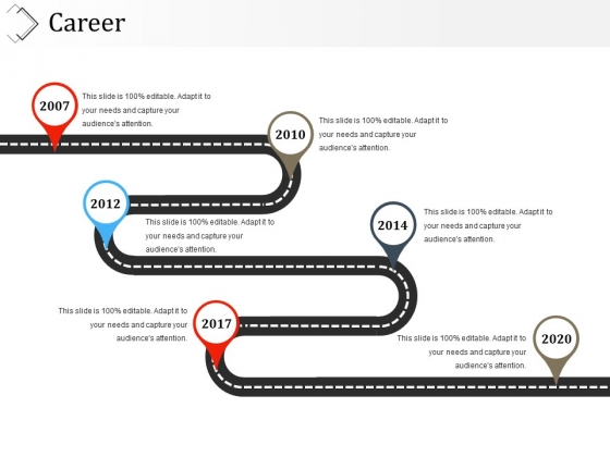 Career Template 1 Ppt PowerPoint Presentation Icon Visual Aids