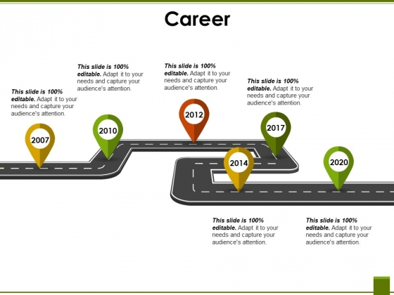 Career Template 1 Ppt PowerPoint Presentation Styles Graphics Design