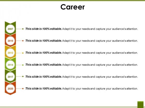 Career Template 2 Ppt PowerPoint Presentation Styles Slides
