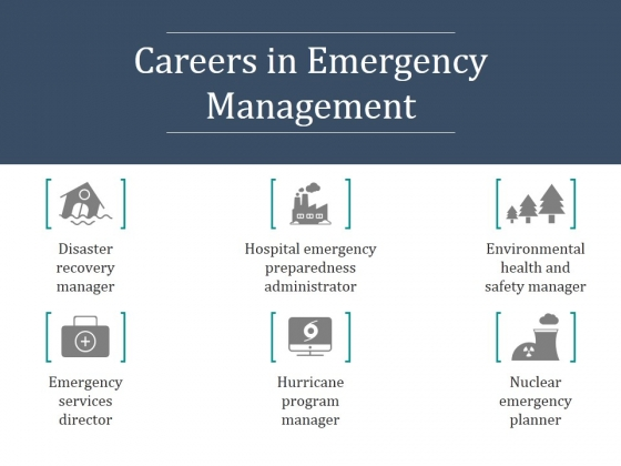 Careers In Emergency Management Ppt PowerPoint Presentation
