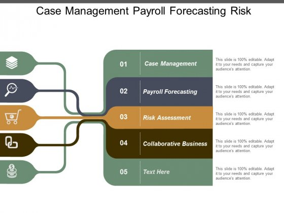 Case Management Payroll Forecasting Risk Assessment Collaborative Business Ppt PowerPoint Presentation Infographic Template Outfit