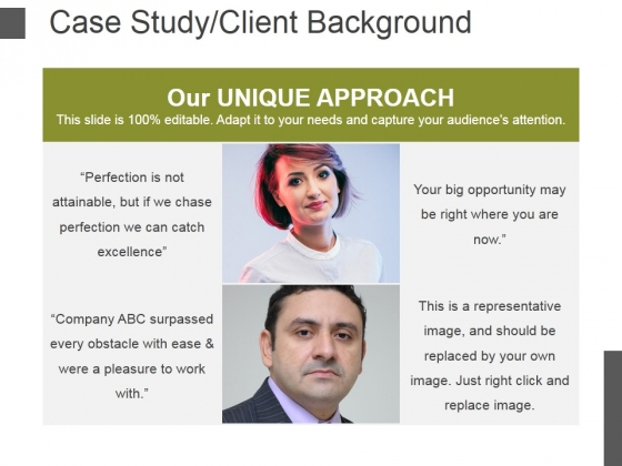 Case Study Client Background Template 1 Ppt PowerPoint Presentation Icon Clipart Images