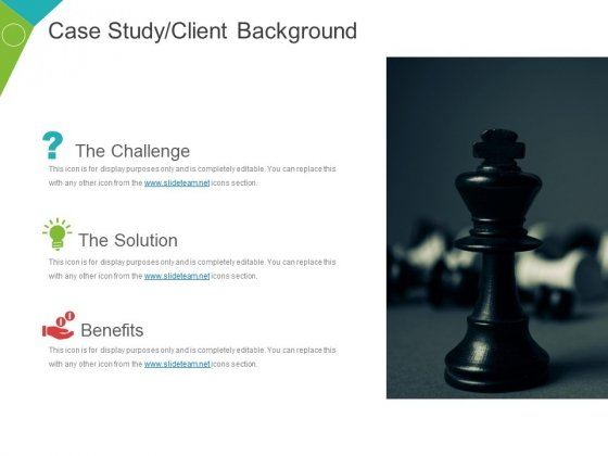 Case Study Client Background Template 1 Ppt PowerPoint Presentation Ideas Graphic Tips