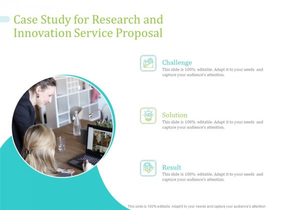 Case Study For Research And Innovation Service Proposal Ppt PowerPoint Presentation Inspiration Images PDF