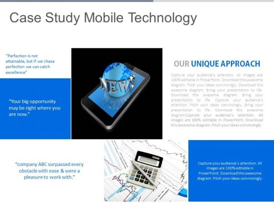 Case Study Mobile Technology Ppt Slides