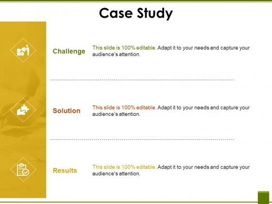 Case Study Ppt PowerPoint Presentation Model Structure