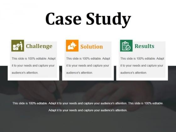 Case Study Ppt PowerPoint Presentation Model Templates