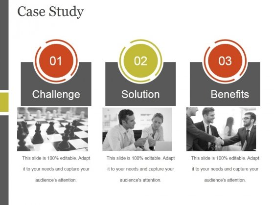 case study template 1 ppt powerpoint presentation design templates