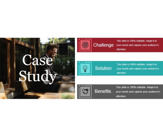 Case Study Template 1 Ppt Powerpoint Presentation Styles Elements
