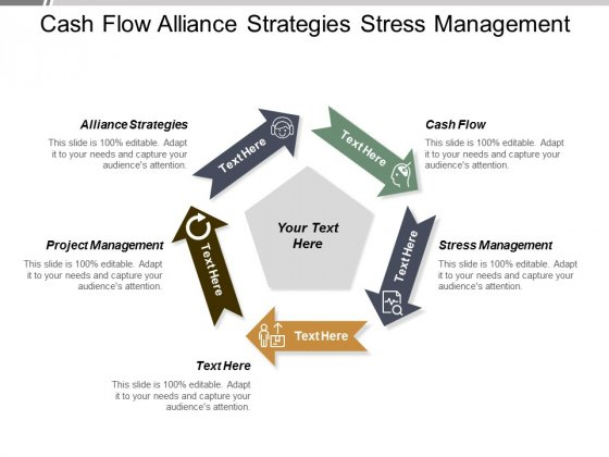 Cash Flow Alliance Strategies Stress Management Project Management Ppt PowerPoint Presentation Portfolio Slide