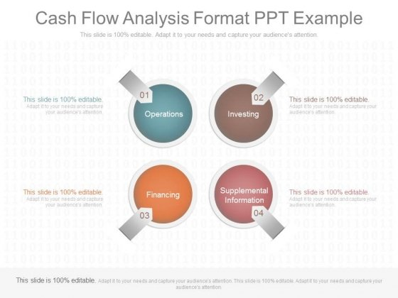 Cash Flow Analysis Format Ppt Example