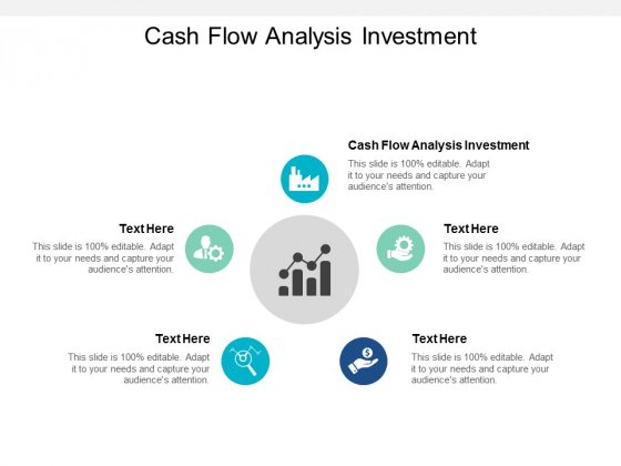 Cash Flow Analysis Investment Ppt PowerPoint Presentation Slides Example Cpb