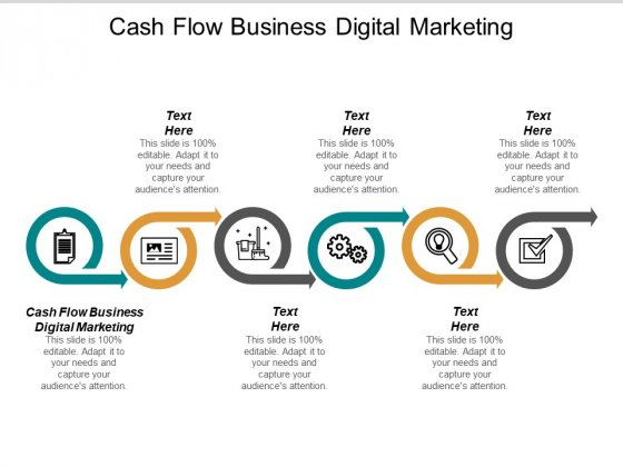 Cash Flow Business Digital Marketing Ppt PowerPoint Presentation Layouts Clipart Images Cpb