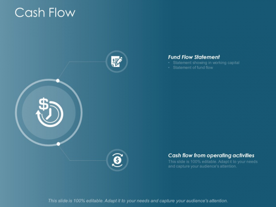Cash Flow Fund Flow Statement Ppt Powerpoint Presentation Infographic Template Shapes