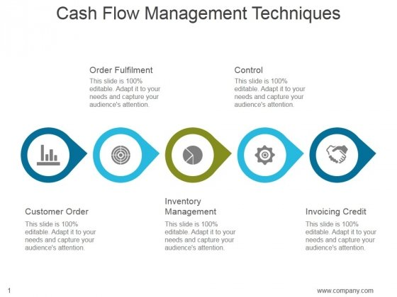 Cash Flow Management Techniques Ppt PowerPoint Presentation Inspiration