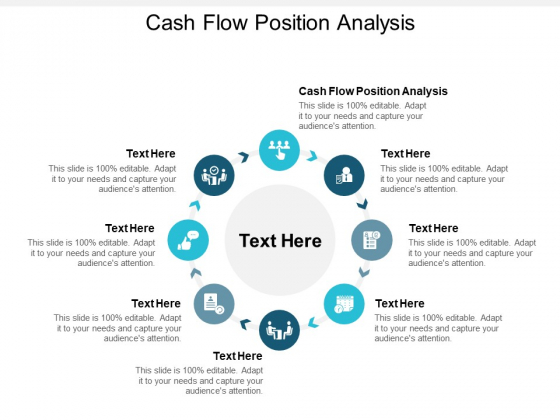 Cash Flow Position Analysis Ppt PowerPoint Presentation Infographics Clipart Cpb