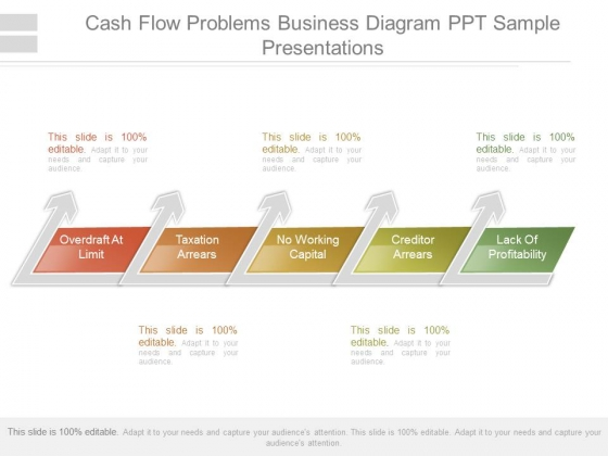 Cash Flow Problems Business Diagram Ppt Sample Presentations