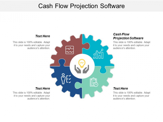 Cash Flow Projection Software Ppt Powerpoint Presentation Pictures Visual Aids Cpb