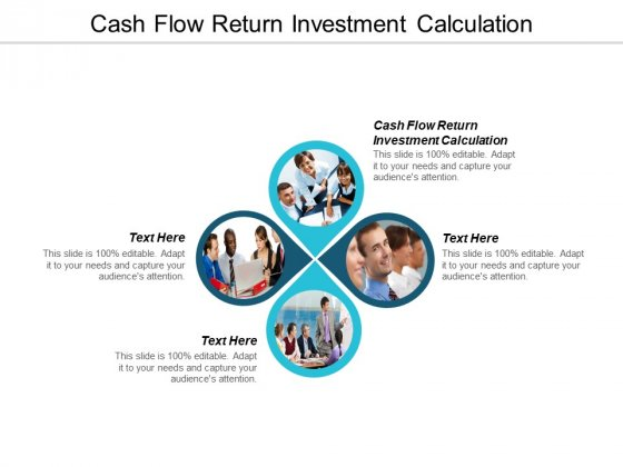 Cash Flow Return Investment Calculation Ppt Powerpoint Presentation File Display Cpb
