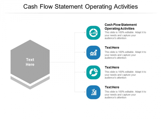 Cash Flow Statement Operating Activities Ppt PowerPoint Presentation Professional Example Introduction Cpb Pdf