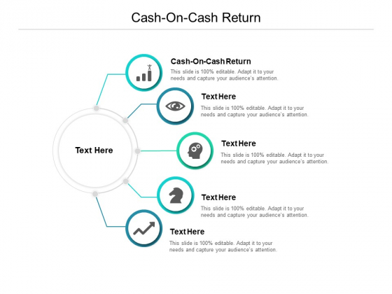 Cash On Cash Return Ppt PowerPoint Presentation Inspiration Brochure Cpb