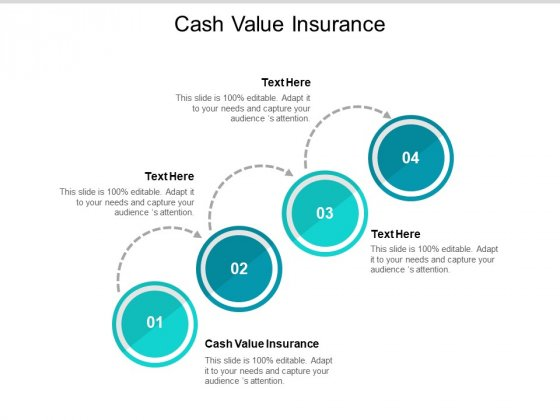 Cash Value Insurance Ppt PowerPoint Presentation Styles Example File Cpb Pdf
