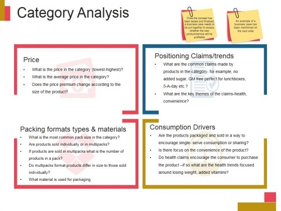 Category Analysis Ppt Powerpoint Presentation Topics