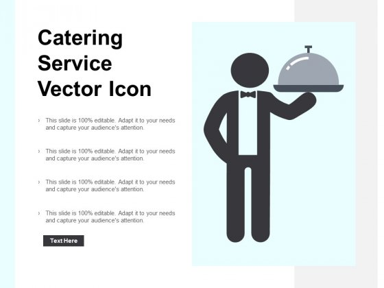 Catering Service Vector Icon Ppt PowerPoint Presentation Model Portrait