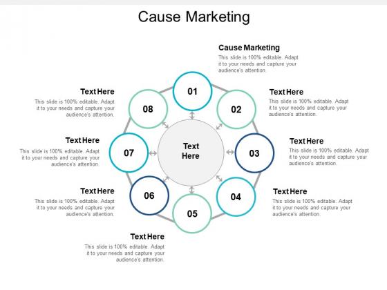 Cause Marketing Ppt PowerPoint Presentation Styles Master Slide Cpb
