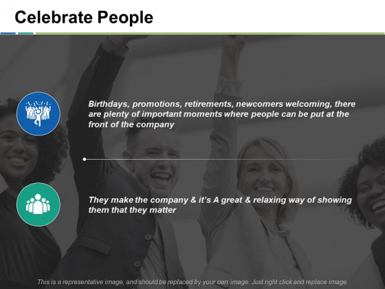 Celebrate People Ppt PowerPoint Presentation Ideas Example Introduction