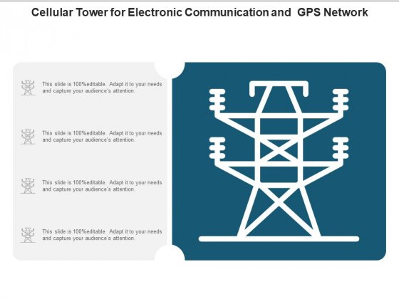 Cellular Tower For Electronic Communication And Gps Network Ppt PowerPoint Presentation Model Graphic Images