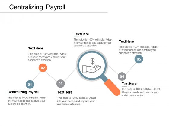 Centralizing Payroll Ppt PowerPoint Presentation Inspiration Visual Aids Cpb