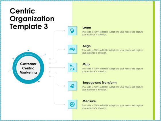 Centric Organization Template Learn Client Centric Strategies Demonstration PDF