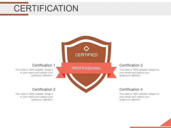 Certification Ppt PowerPoint Presentation Designs Download