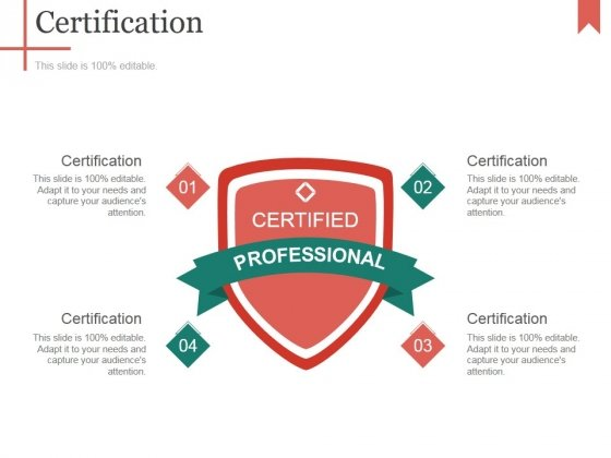 Certification Ppt PowerPoint Presentation Infographic Template Introduction