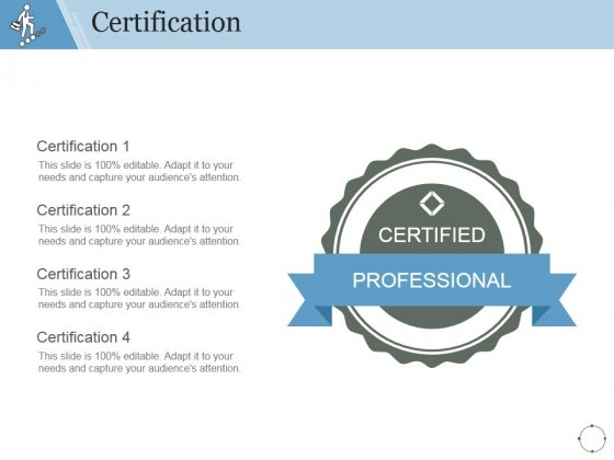 Certification Ppt PowerPoint Presentation Infographic Template