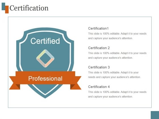Certification Ppt PowerPoint Presentation Introduction