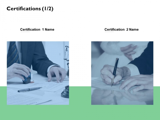 Certifications Business Planning Ppt PowerPoint Presentation Infographic Template Files