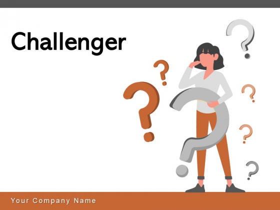 Challenger Puzzle Head Showing Bulb Business Ppt PowerPoint Presentation Complete Deck
