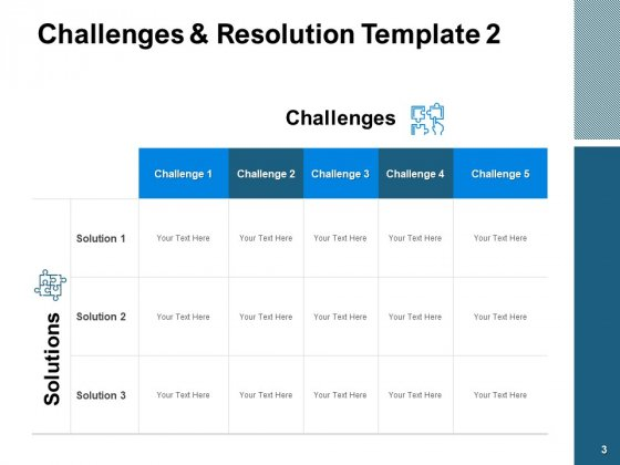 Challenges_And_Resolution_Ppt_PowerPoint_Presentation_Complete_Deck_With_Slides_Slide_3